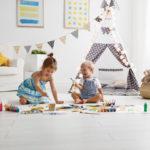 Welche Gefahren gibt es in Kinderzimmern?